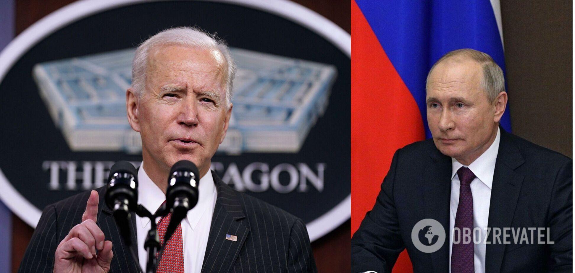 Зустріч Байдена і Путіна
