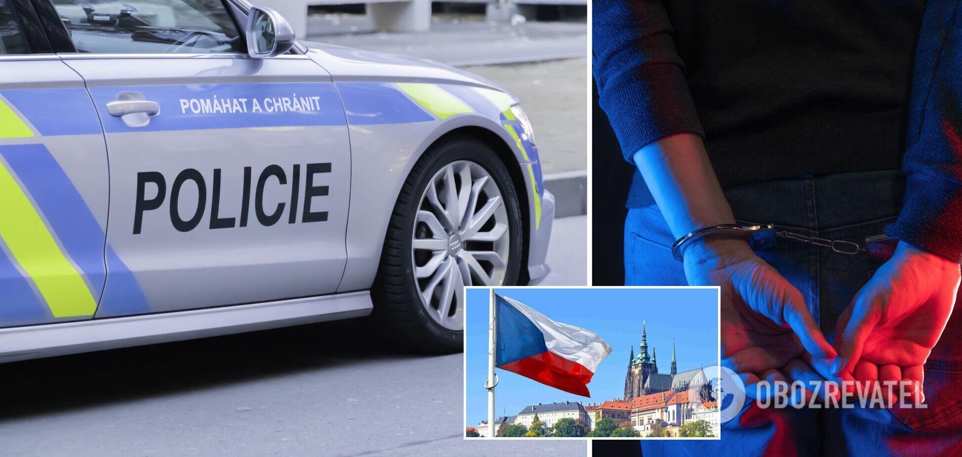 В Чехии задержали четырех украинцев