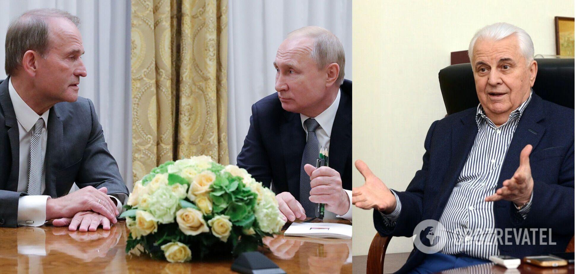 Кравчук розкрив роль Медведчука у плані Путіна щодо України