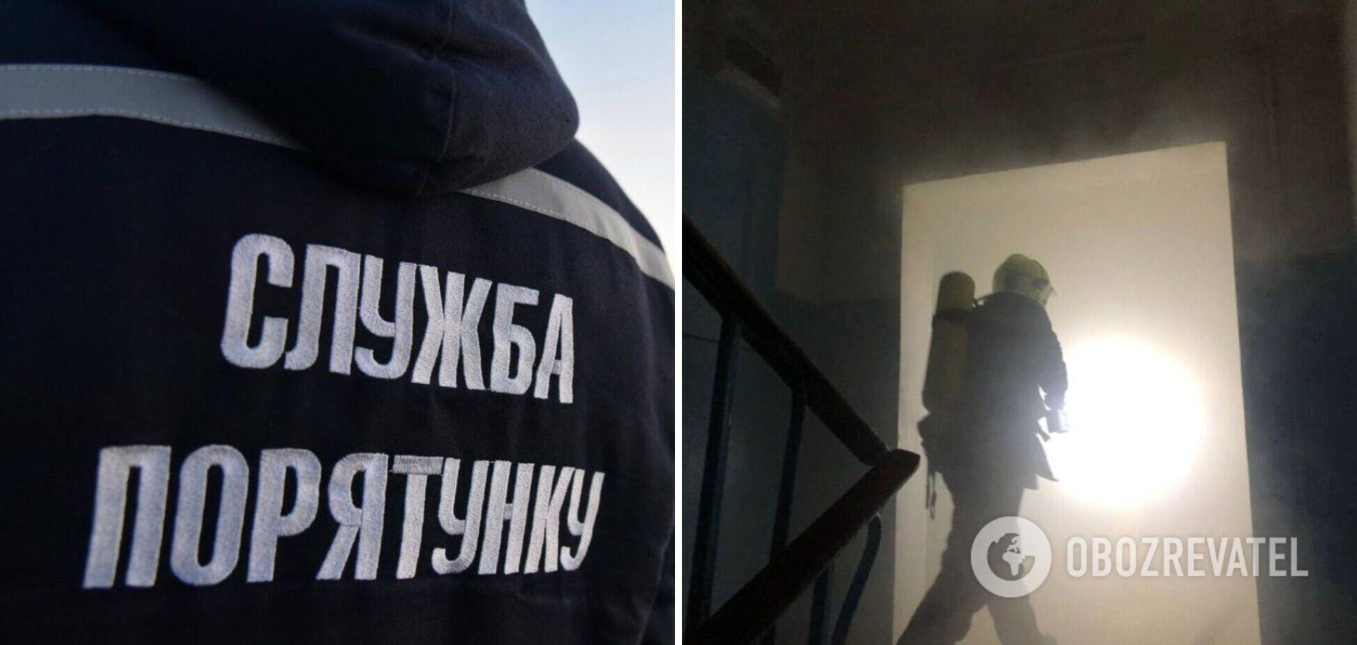 В Одесі горів гуртожиток медуніверситету: є постраждалий. Фото
