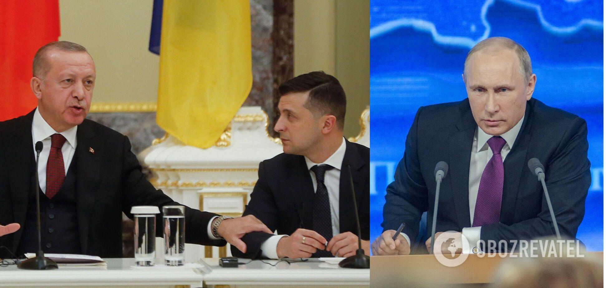Путін шантажував Ердогана через підтримку України – WSJ