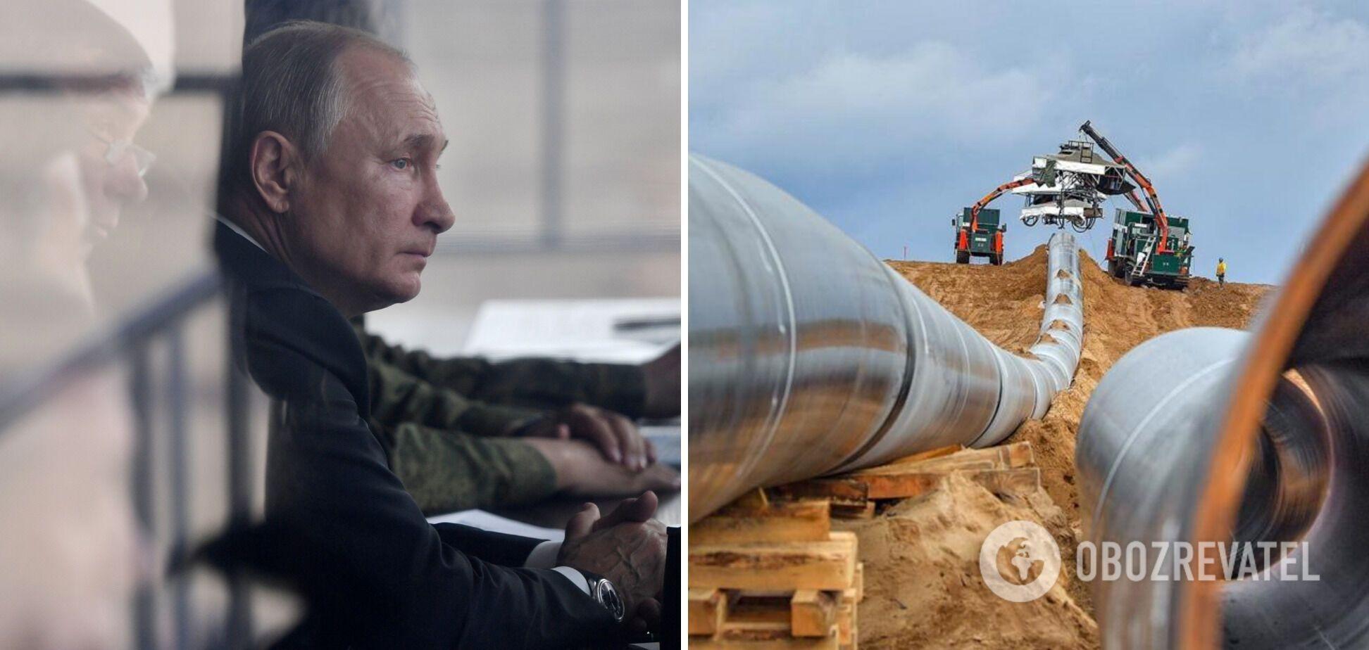 'Северный поток-2' еще не достроен, а Путин уже шантажирует Украину