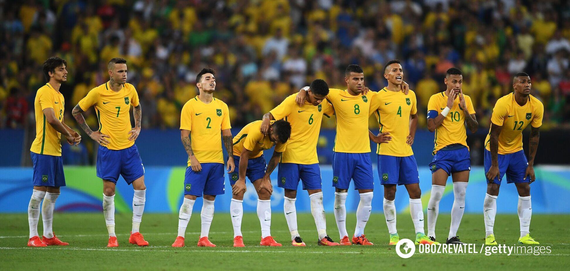 Олимпийская сборная Бразилии