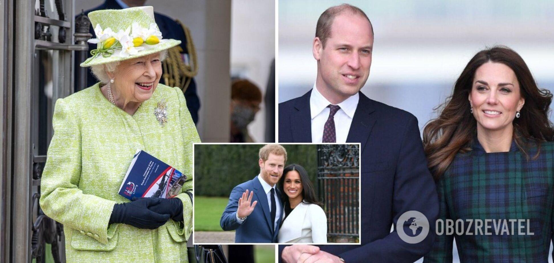 Королевская семья поздравила принца Гарри и Меган Маркл с рождением дочери