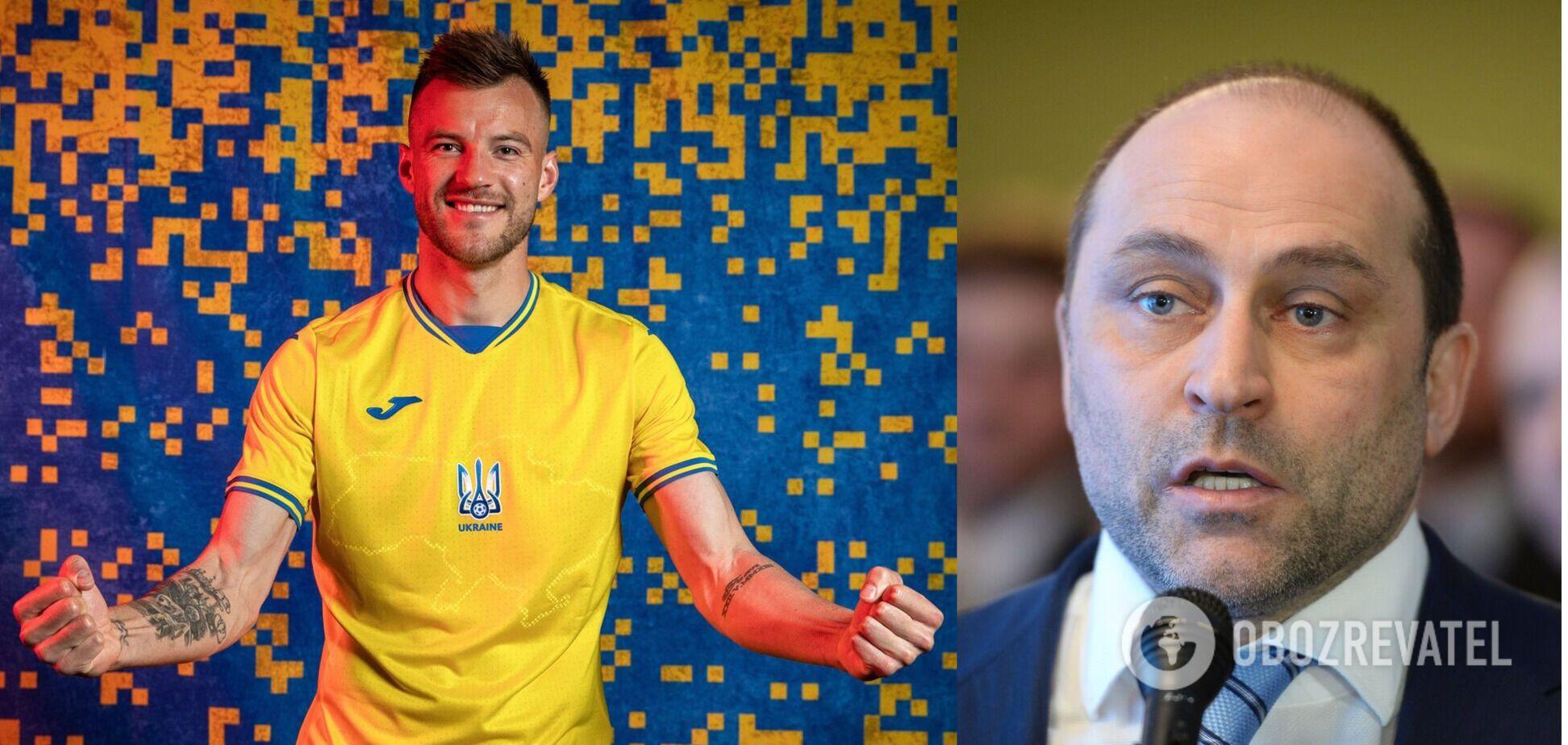 Дмитро Свищов розкритикував форму збірної України