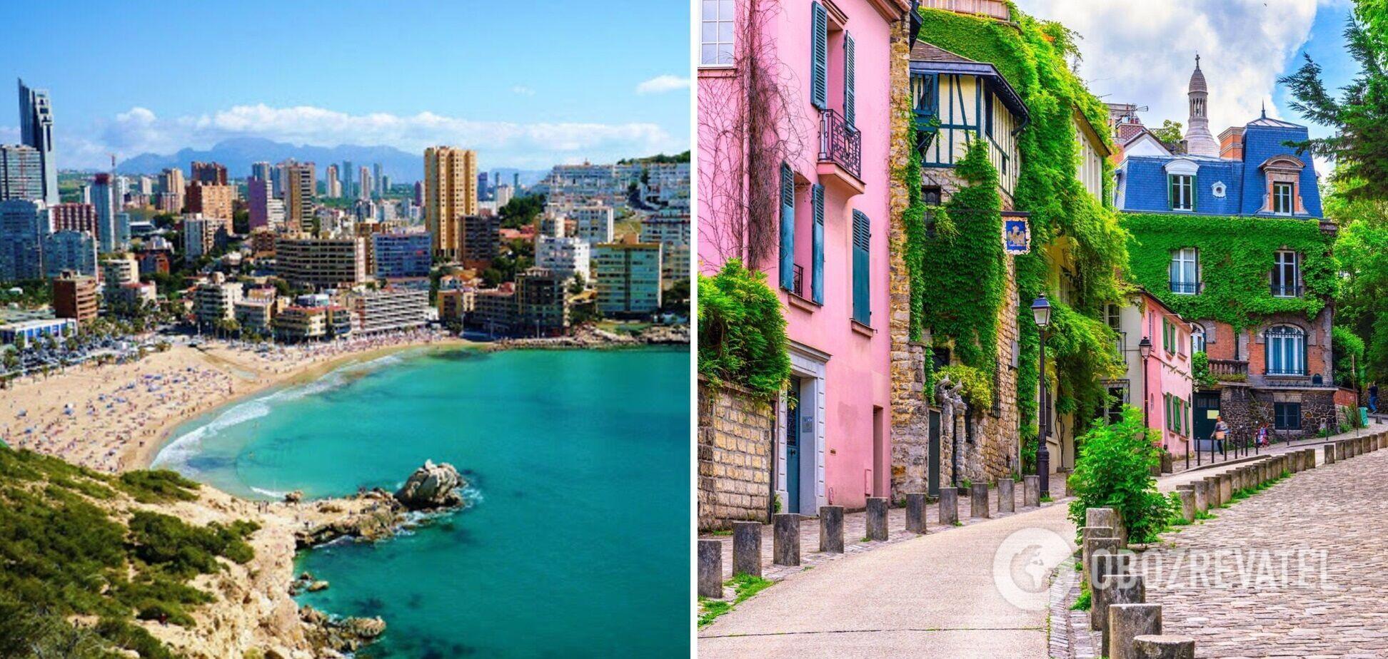 Испания и Франция открываются для украинских туристов