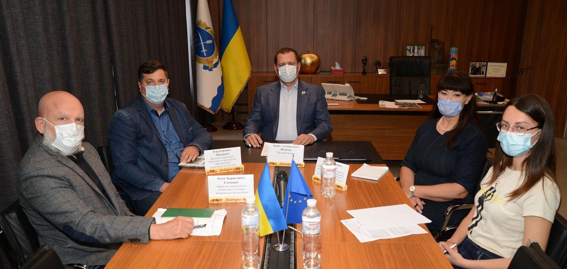 В Днепре подписали меморандум с ЕБРР