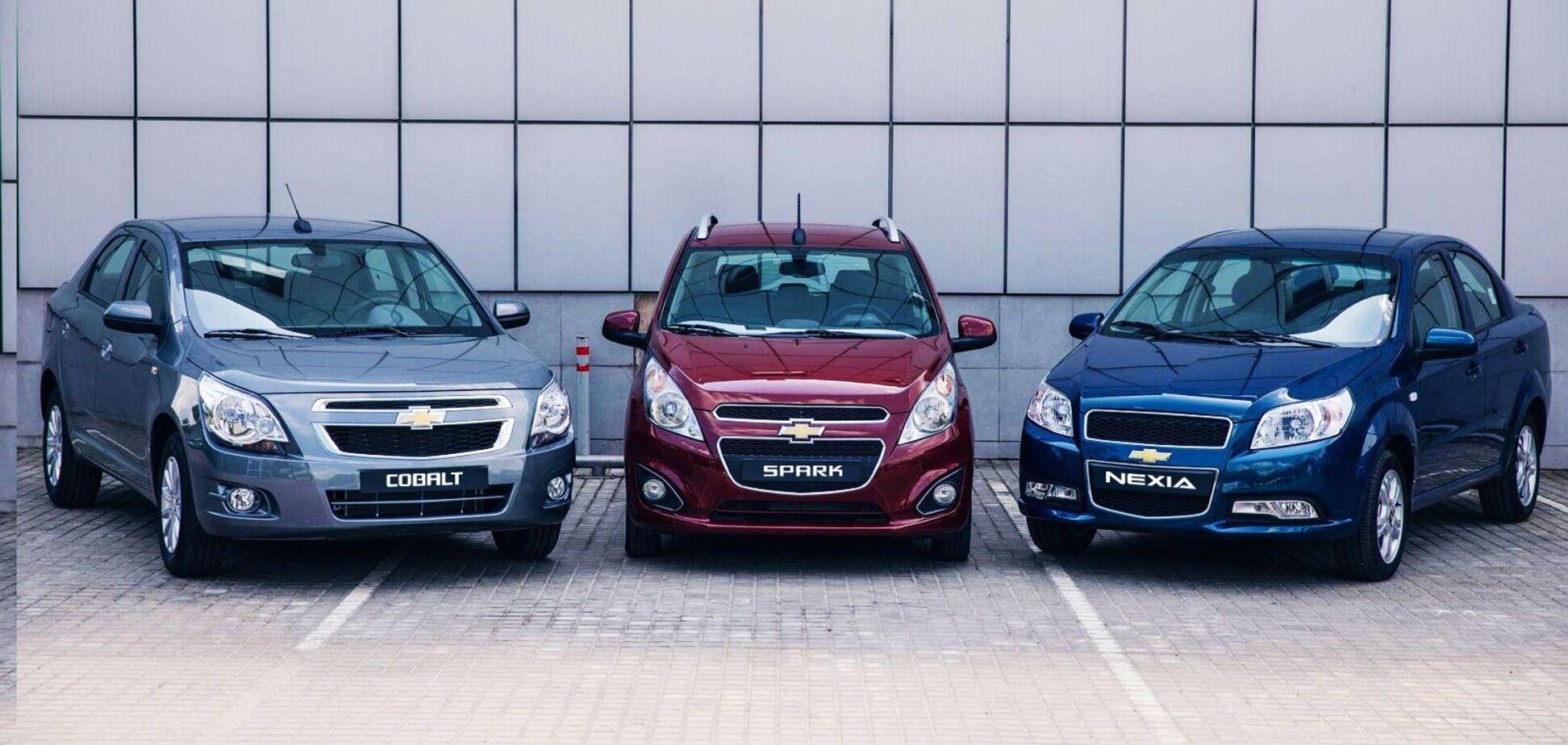 Автомобили Chevrolet доступного сегмента возвращаются в Украину