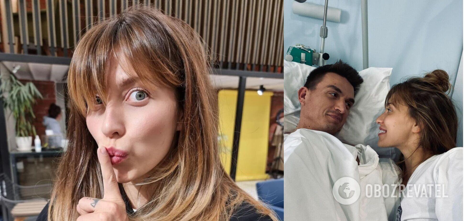 Регина Тодоренко позировала с мужем в постели