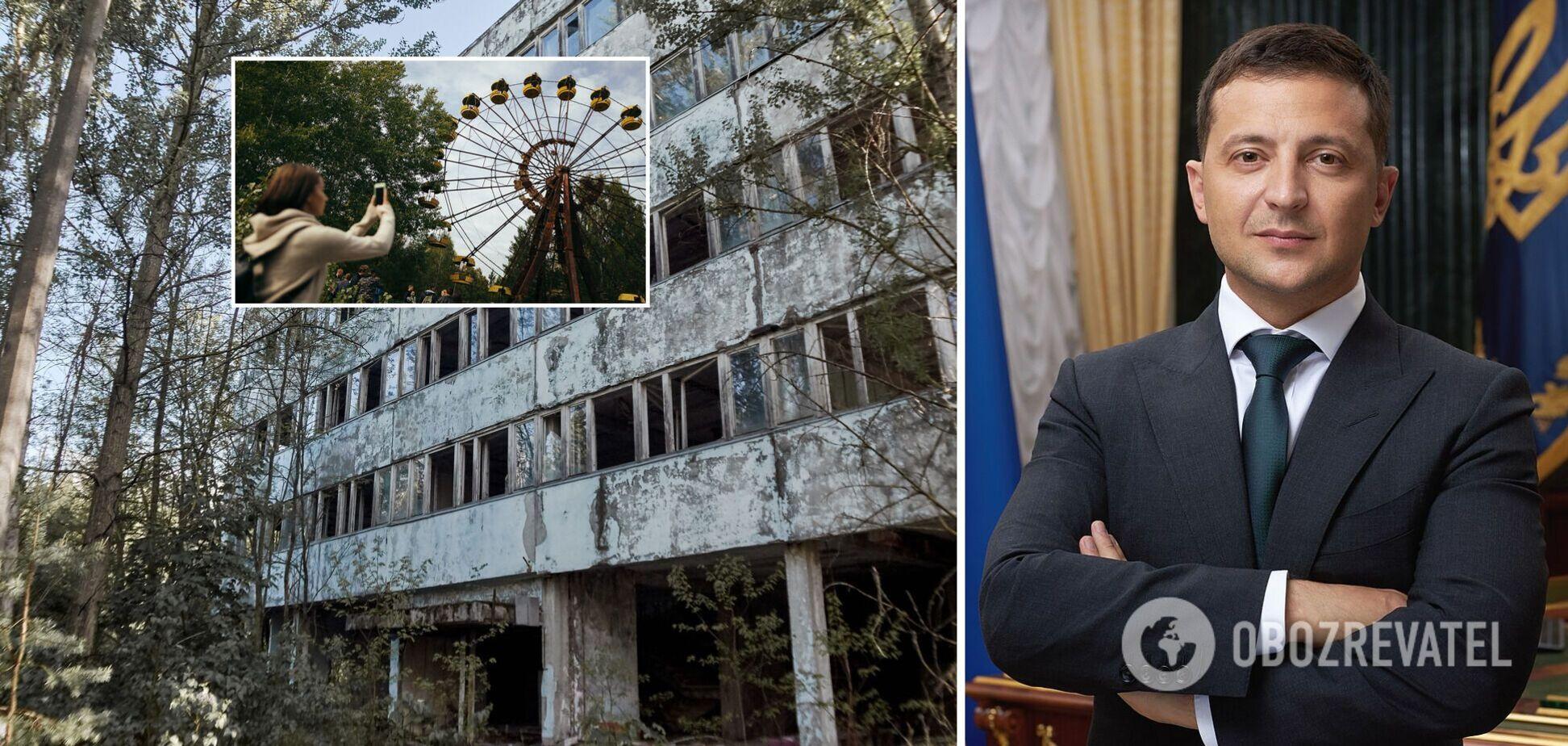 Зеленський розповів про свій задум щодо перетворення Чорнобиля