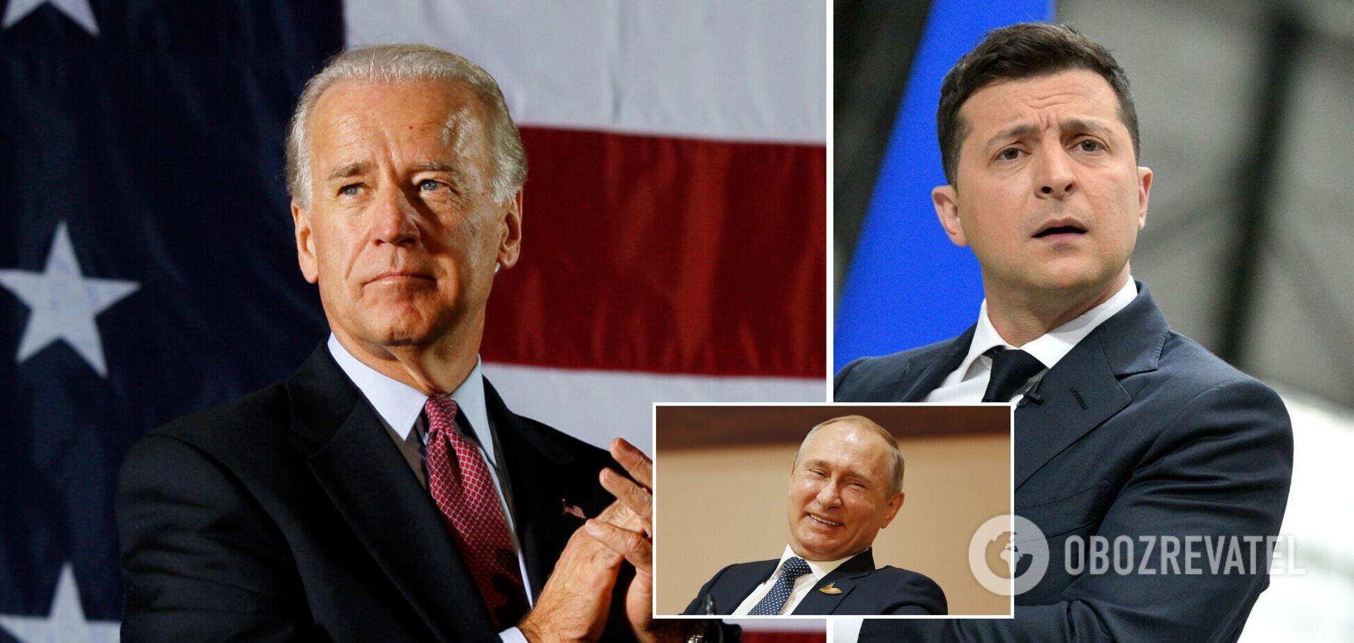 Зеленський поговорив із Байденом перед його зустріччю з Путіним: всі подробиці