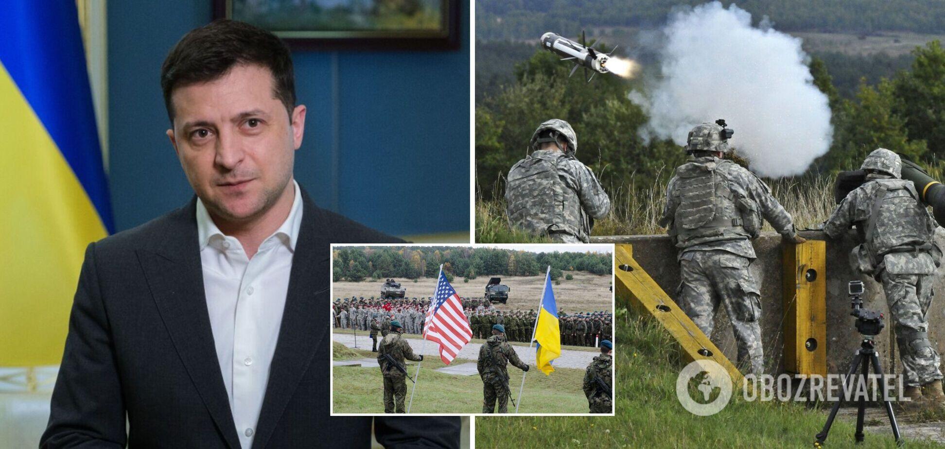 Зеленський пояснив, яку військову допомогу просив для України в США
