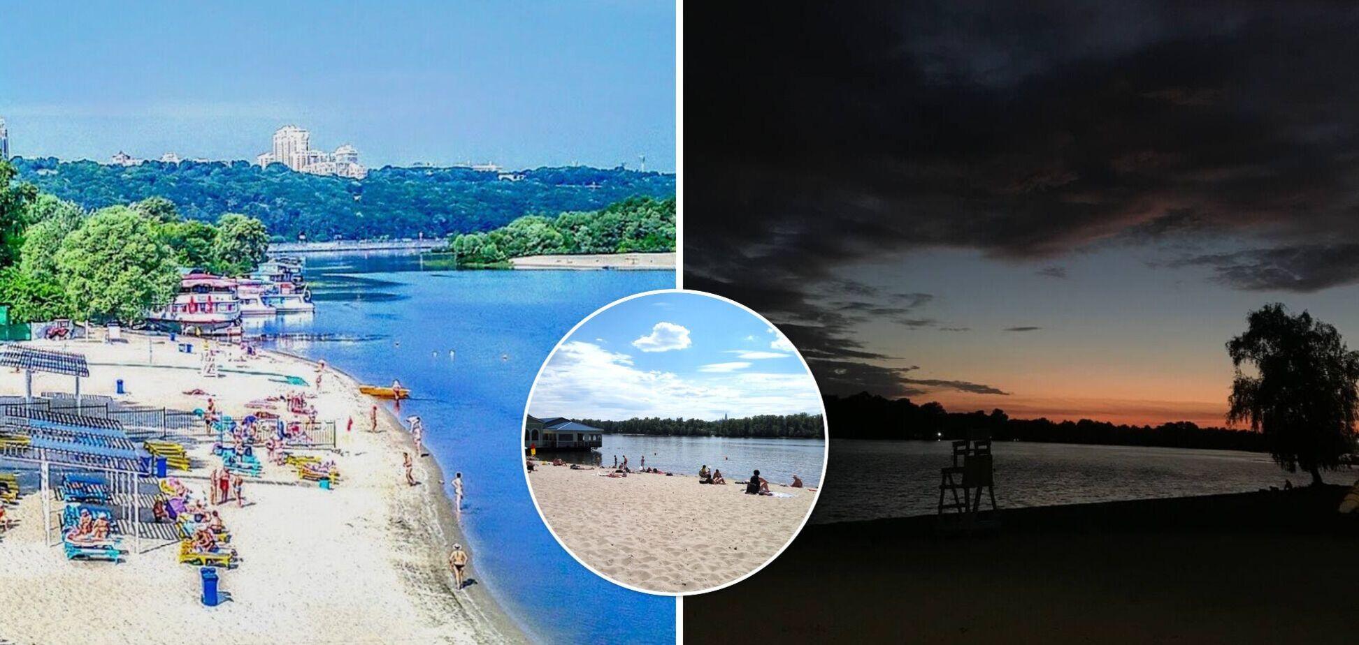 Вид на Киев и песок, как на Мальдивах: топ пляжей Киева, где можно отдохнуть с детьми