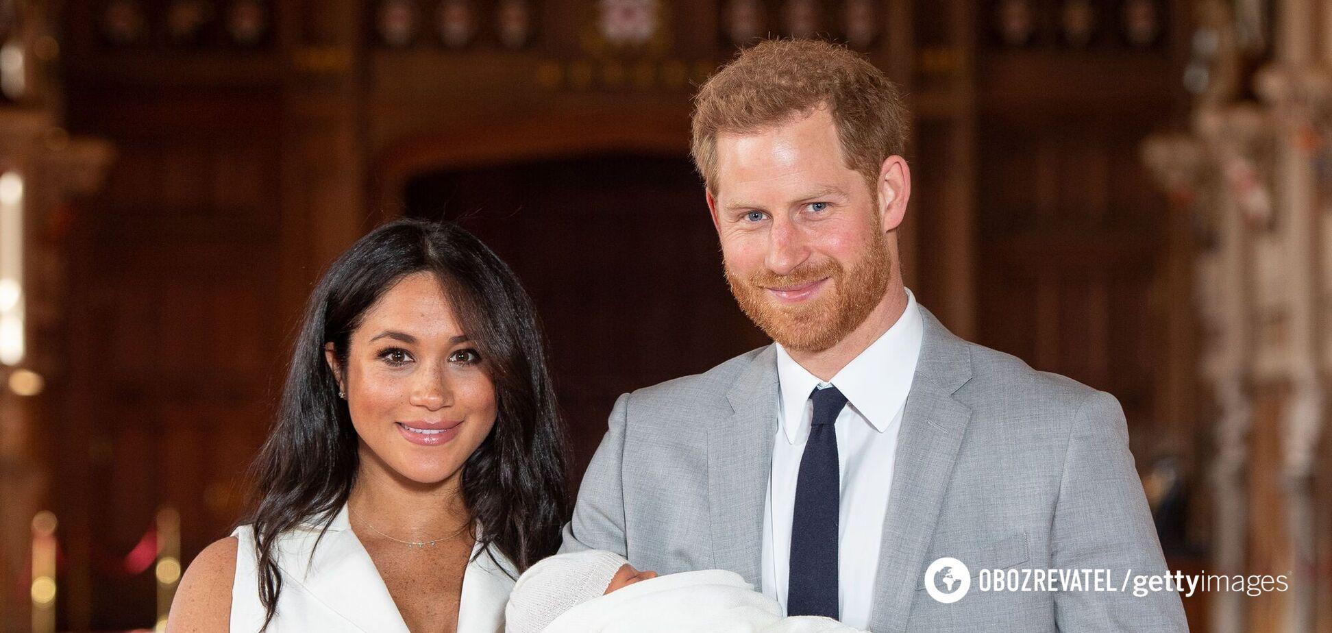 Народжена в США дочка Гаррі і Меган зайняла своє місце в черзі на престол