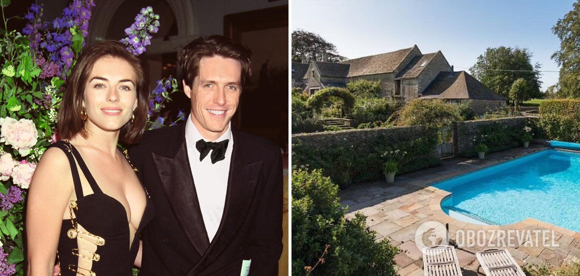 Як виглядає орендований котедж Г'ю Гранта, в якому він жив з екскоханою Елізабет Герлі