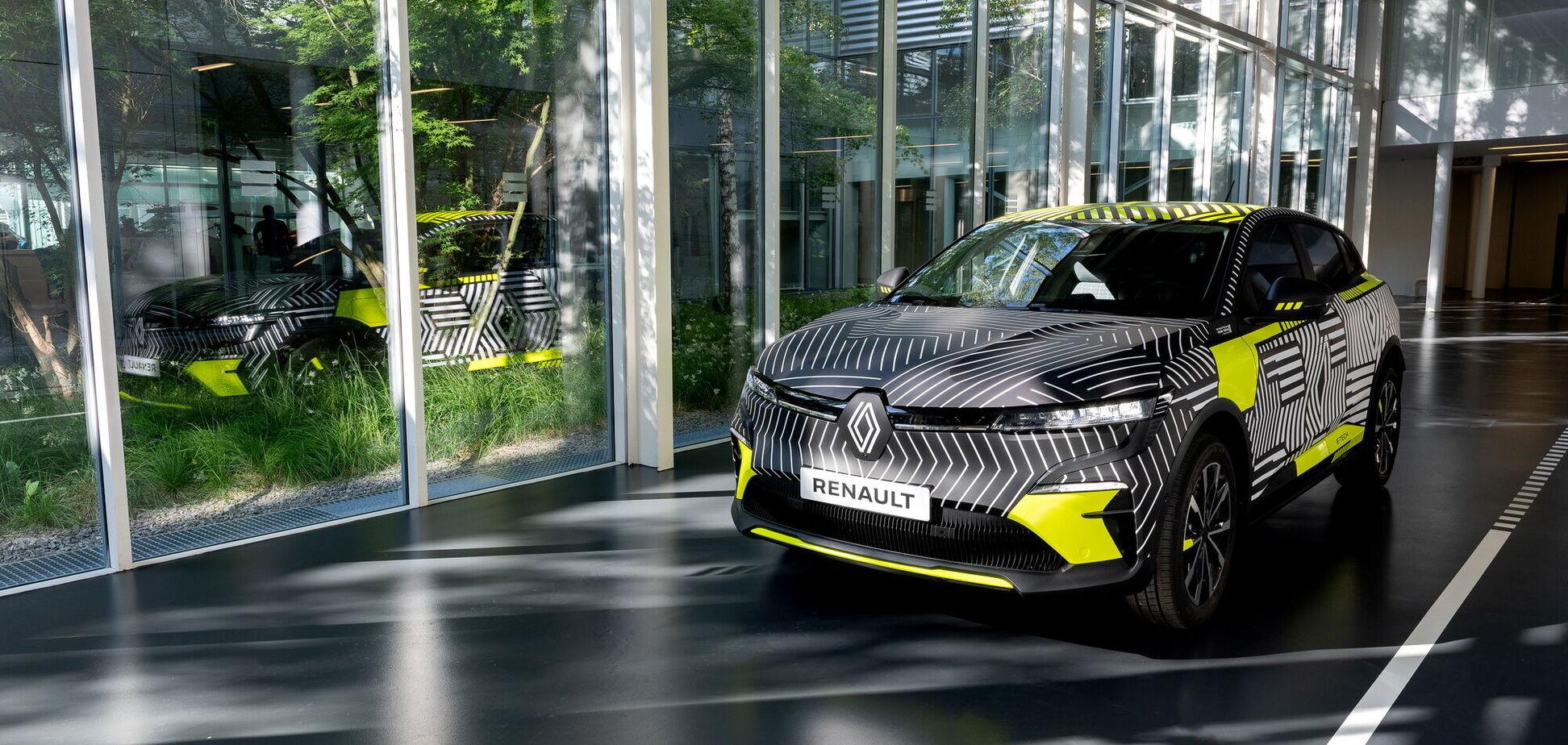 Renault показав прототип електричного Megane