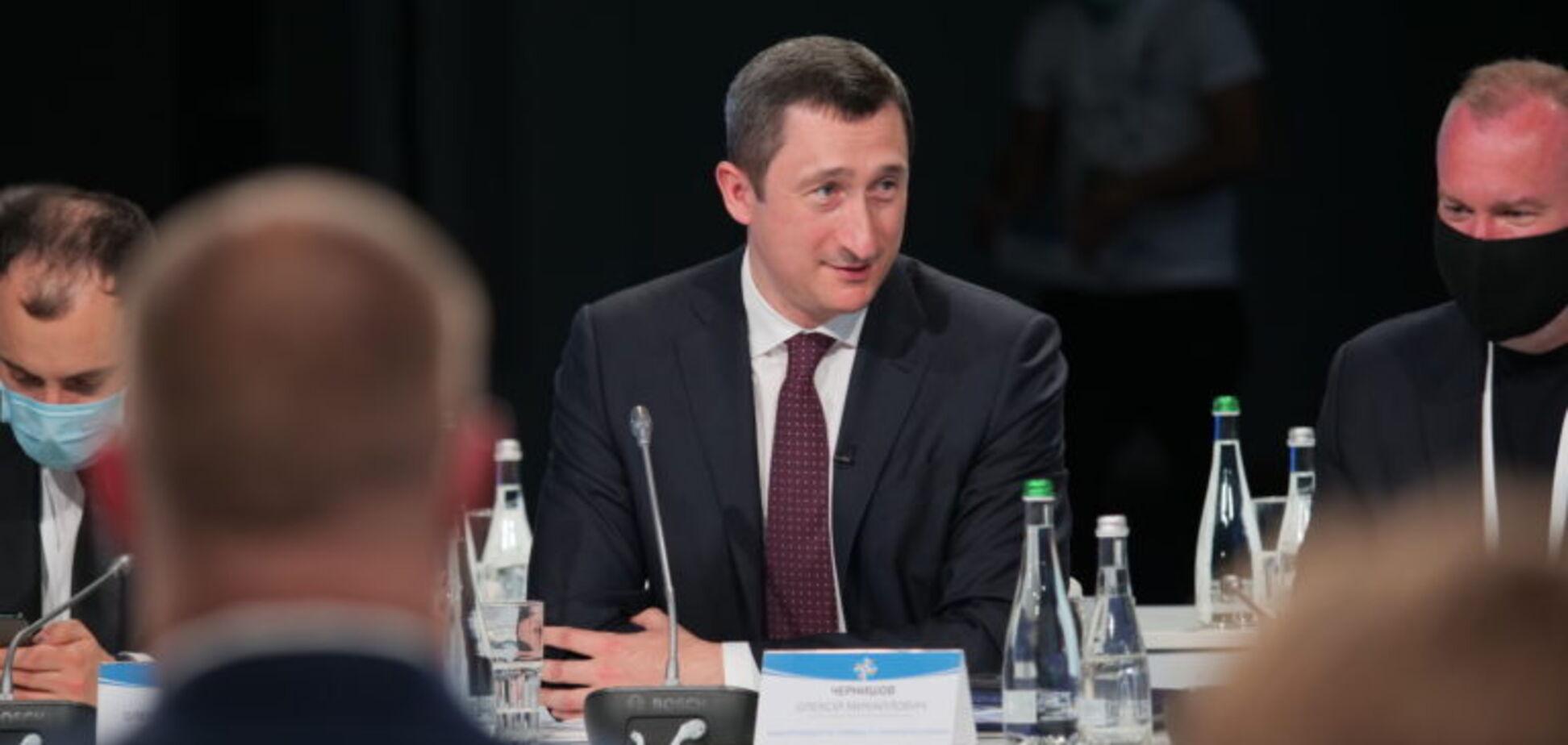 Министр развития общин и территорий Алексей Чернышев