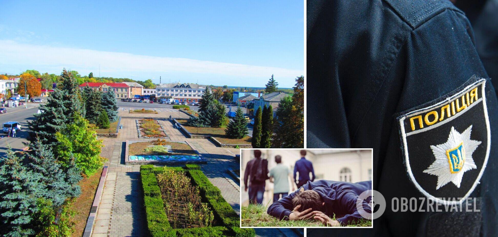 На Житомирщині підлітки побили інваліда: нападників змусили попросити вибачення на колінах. Відео