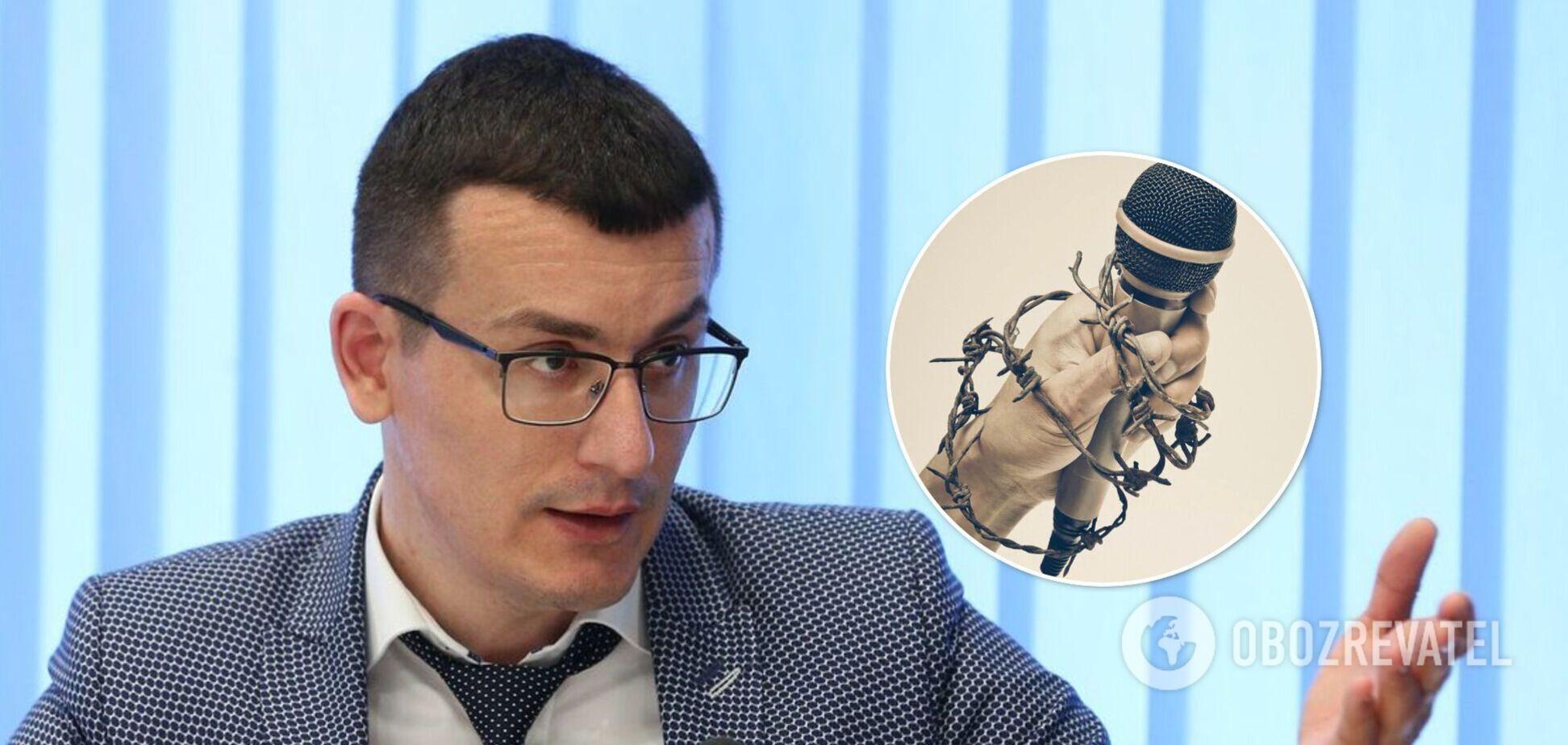 Томиленко призвал освободить 84 незаконно арестованных журналистов
