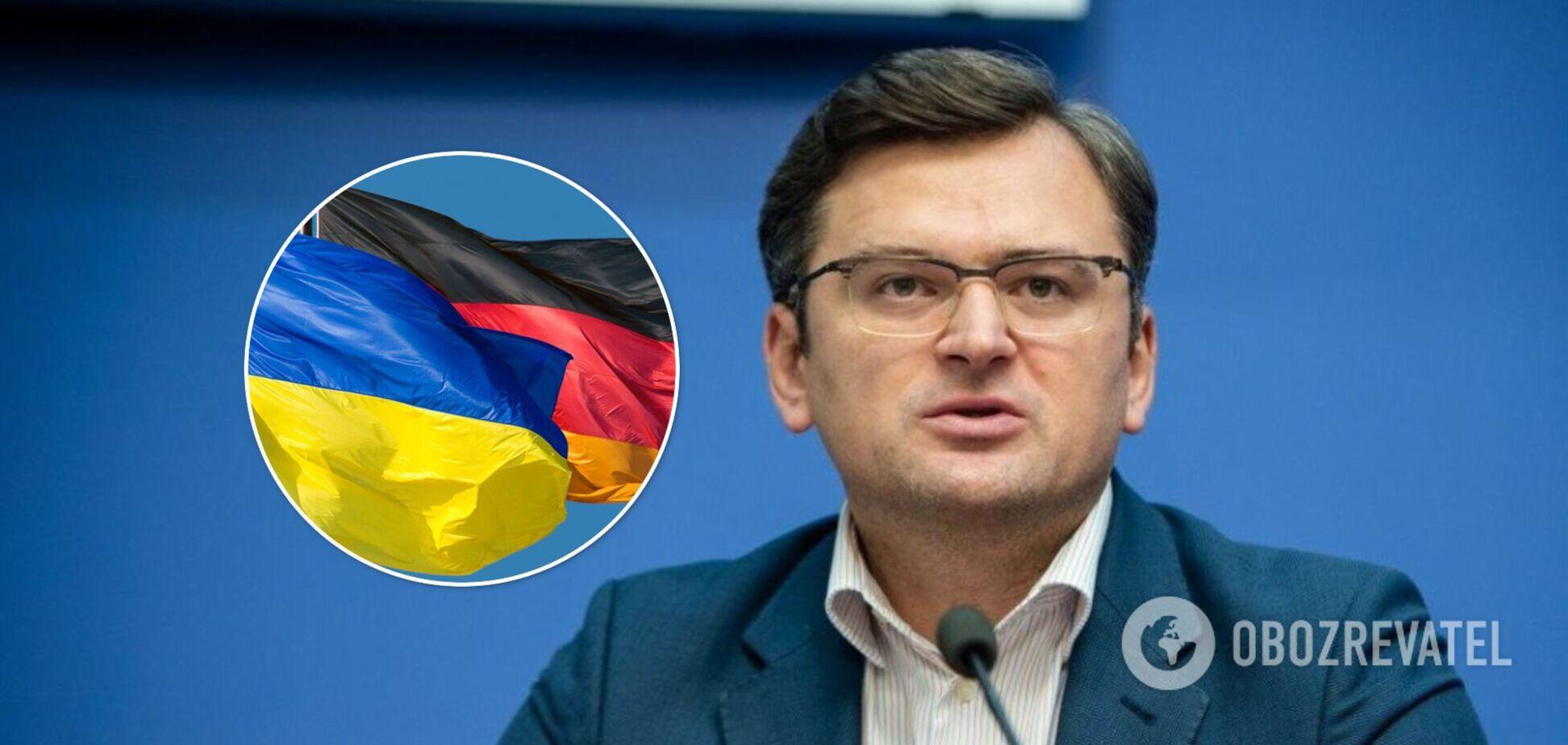 Кулеба провел в Германии тяжелые переговоры по 'Северному потоку-2'