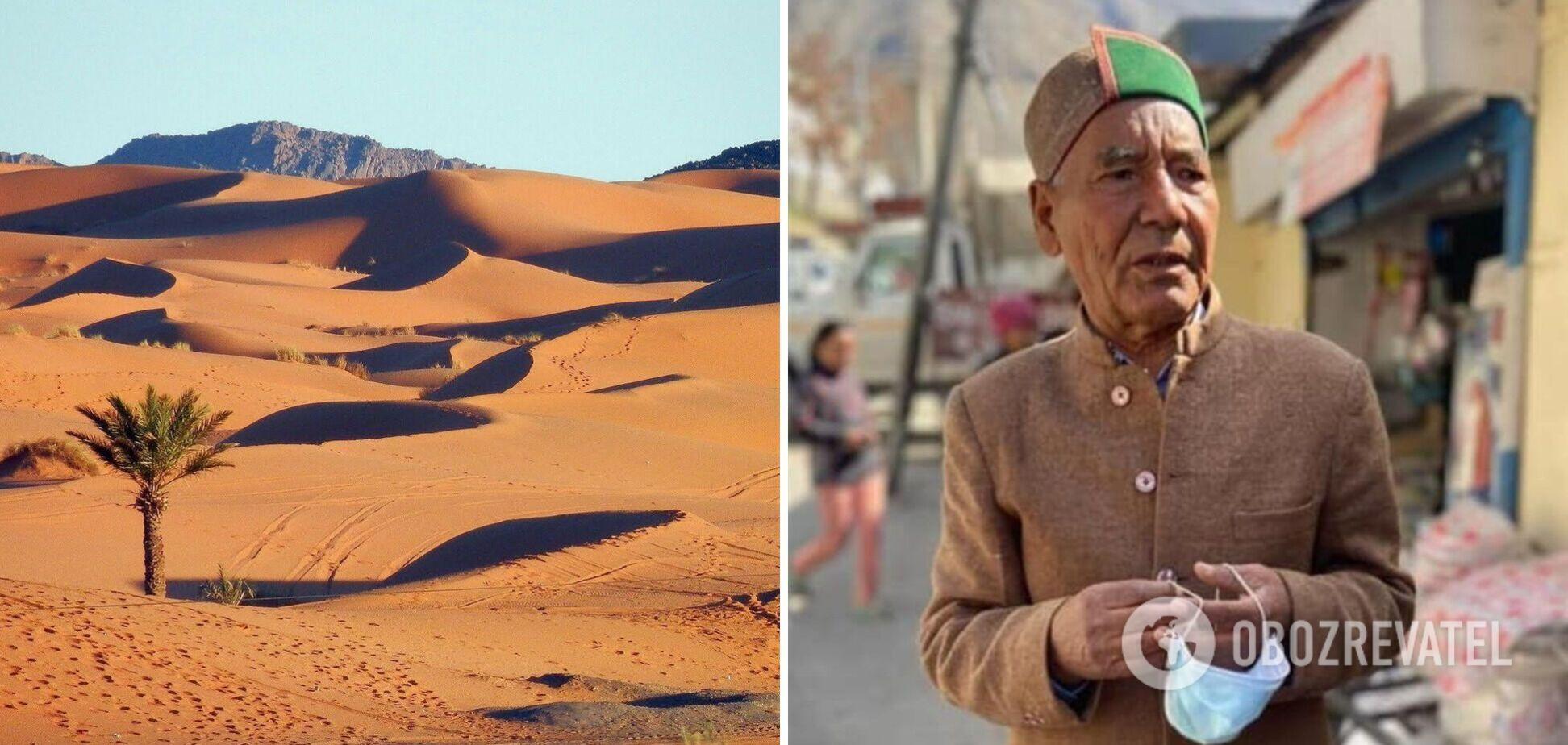 Умер мужчина, превративший пустыню в Индии в оазис