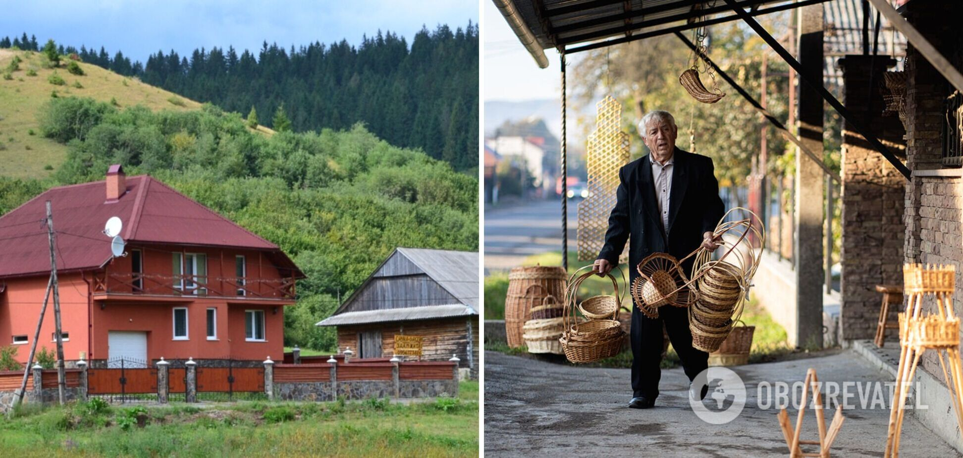 Село Іза неофіційно називають столицею лозоплетіння України