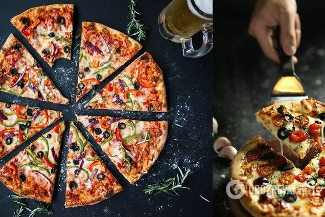 Как украсть кусок пиццы незаметно для клиента