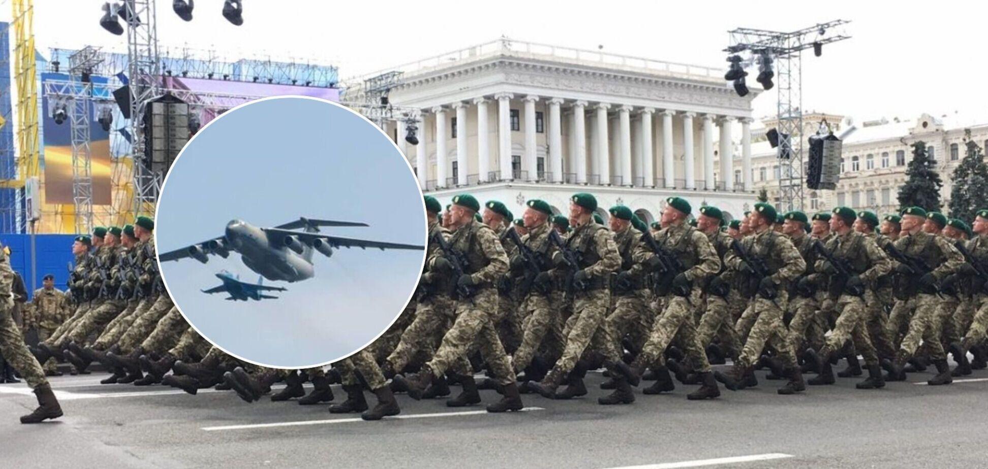 С парадом, авиацией и салютом: как встретят 30-летие Независимости в Киеве