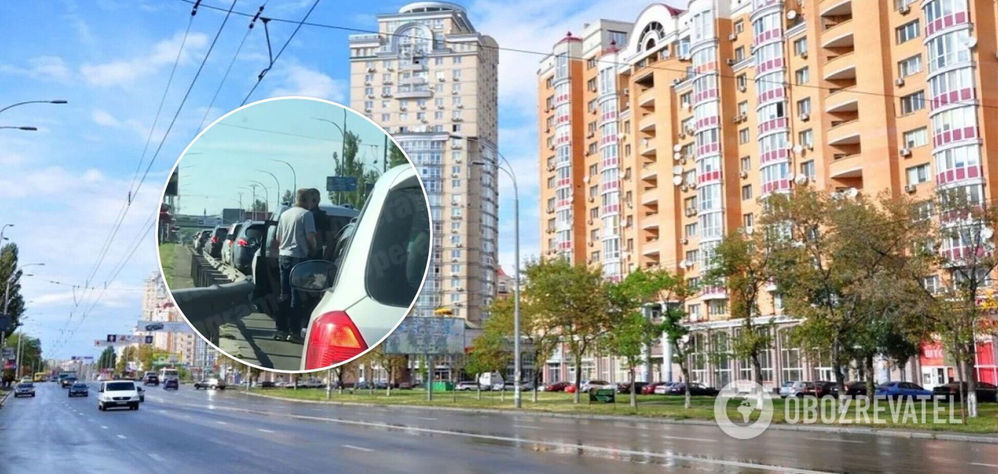 Інцидент стався на проспекті Героїв Сталінграда