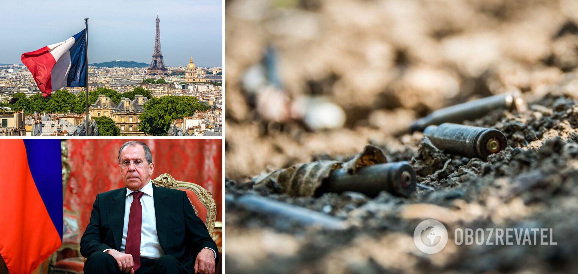 У Франції нагадали Лаврову про відповідальність за рішення конфлікту на Донбасі