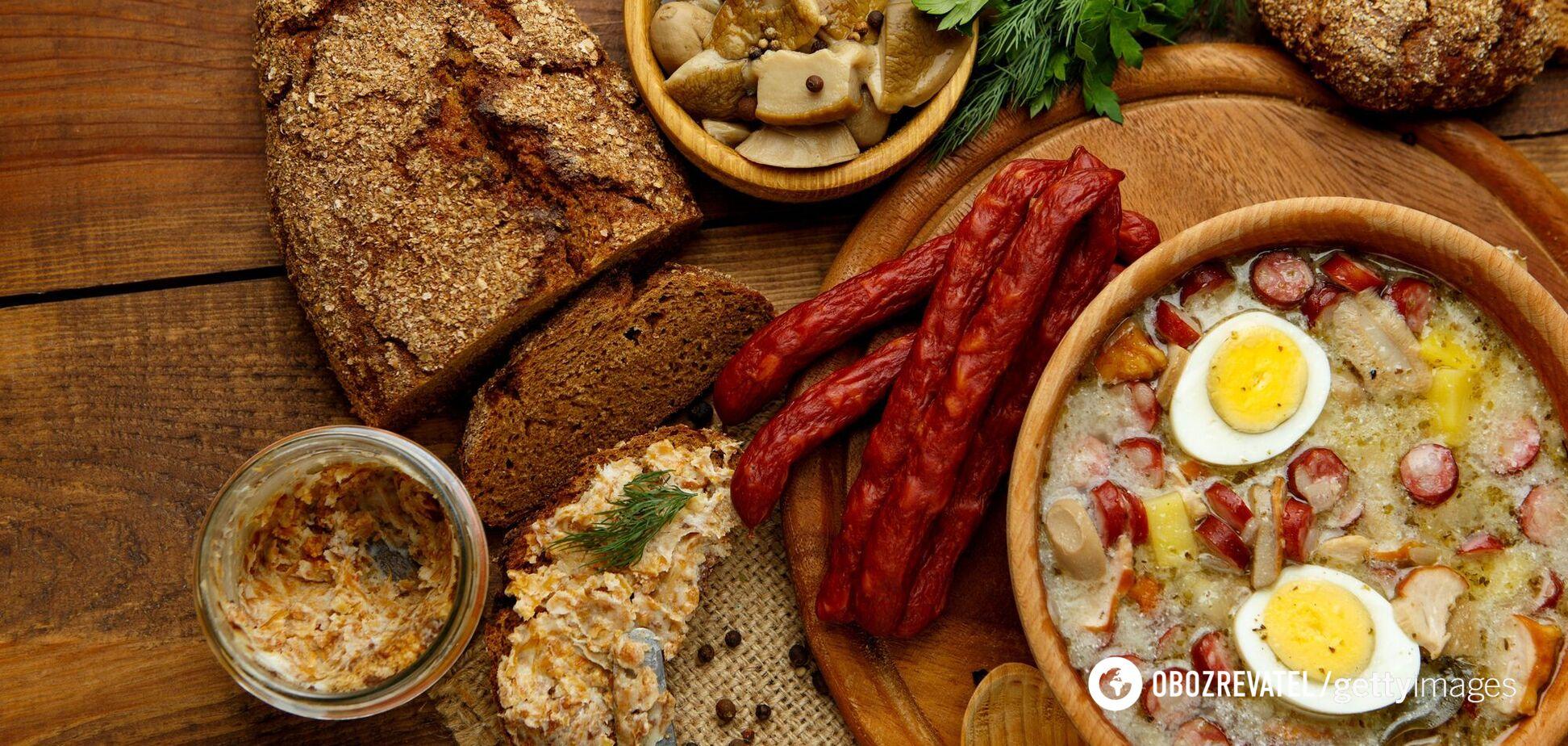 Чеська їжа