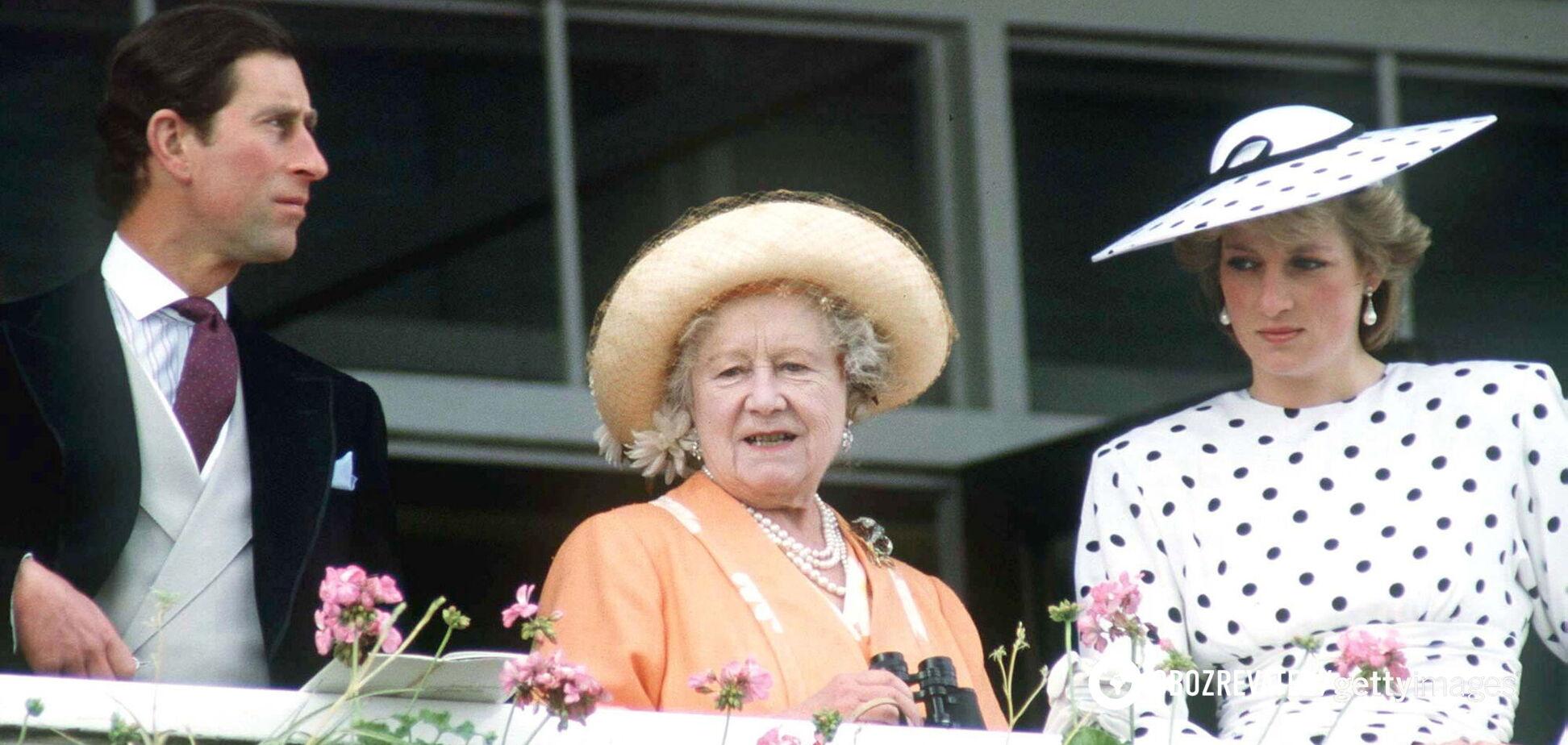 Мать Елизаветы II призывала принцессу Диану не разводиться с Чарльзом