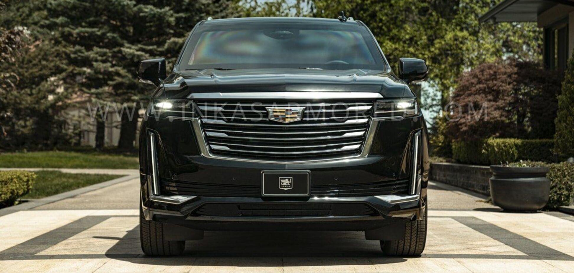 Новий Cadillac Escalade перетворили на броньовик