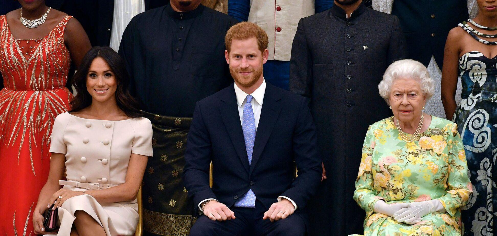 Меган Маркл, принц Гаррі і Єлизавета II
