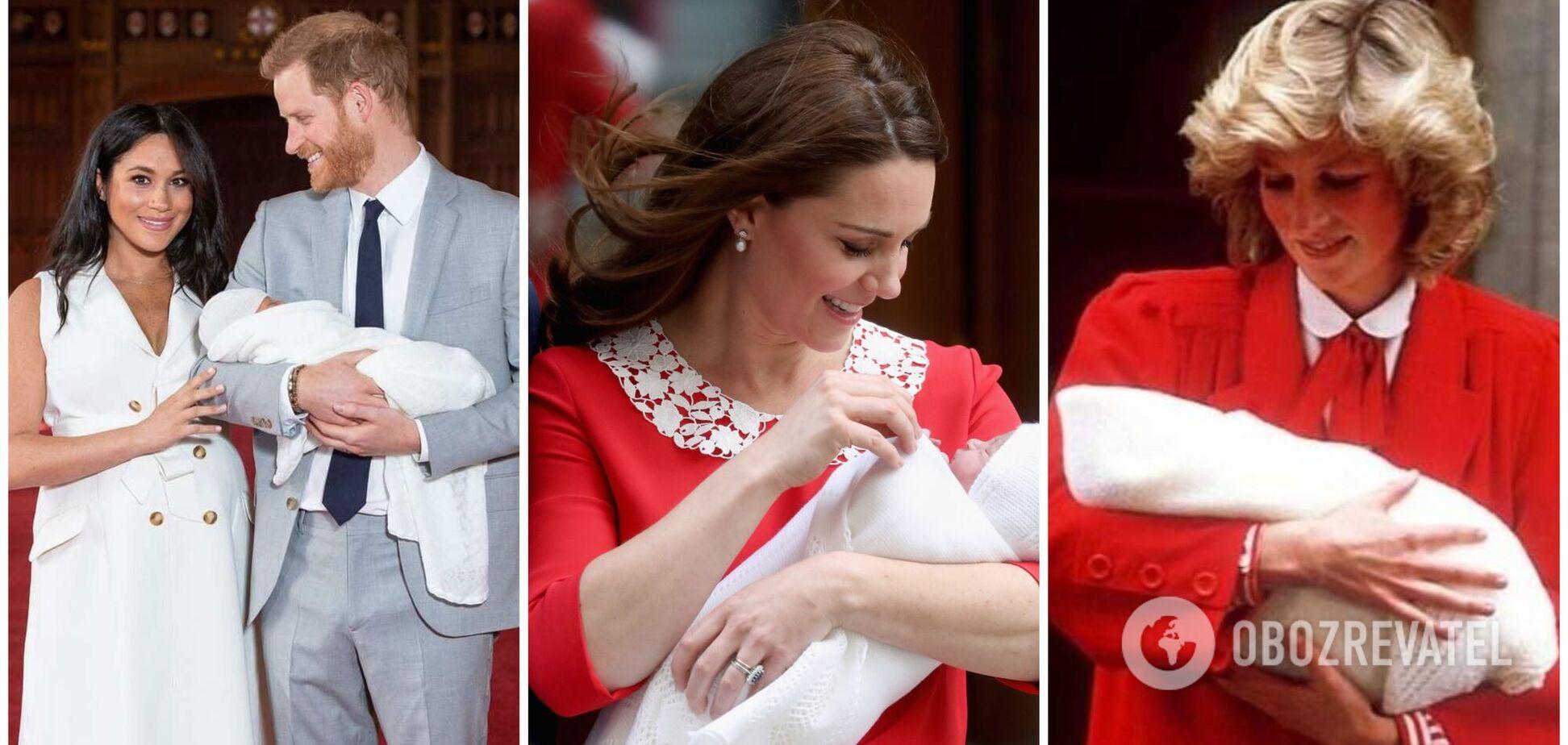 Как и где рожали Маркл, Елизавета II и принцесса Диана. Архивные фото