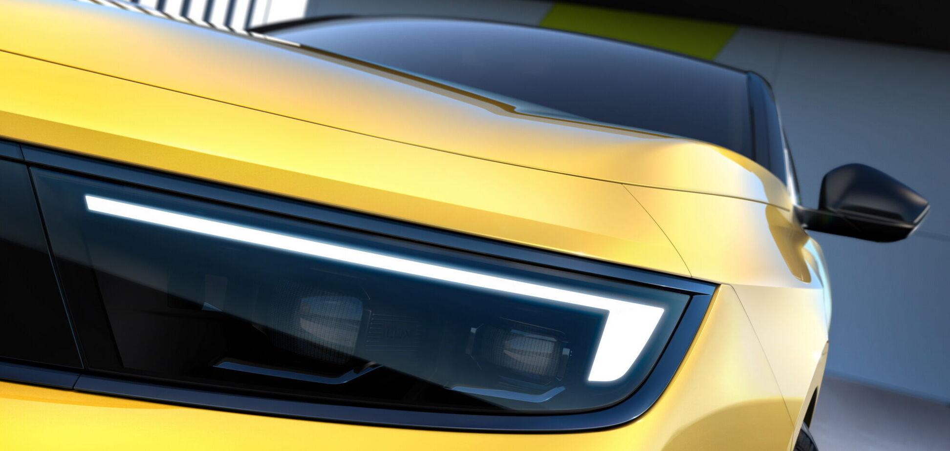 Opel поділився першими зображеннями нової Astra