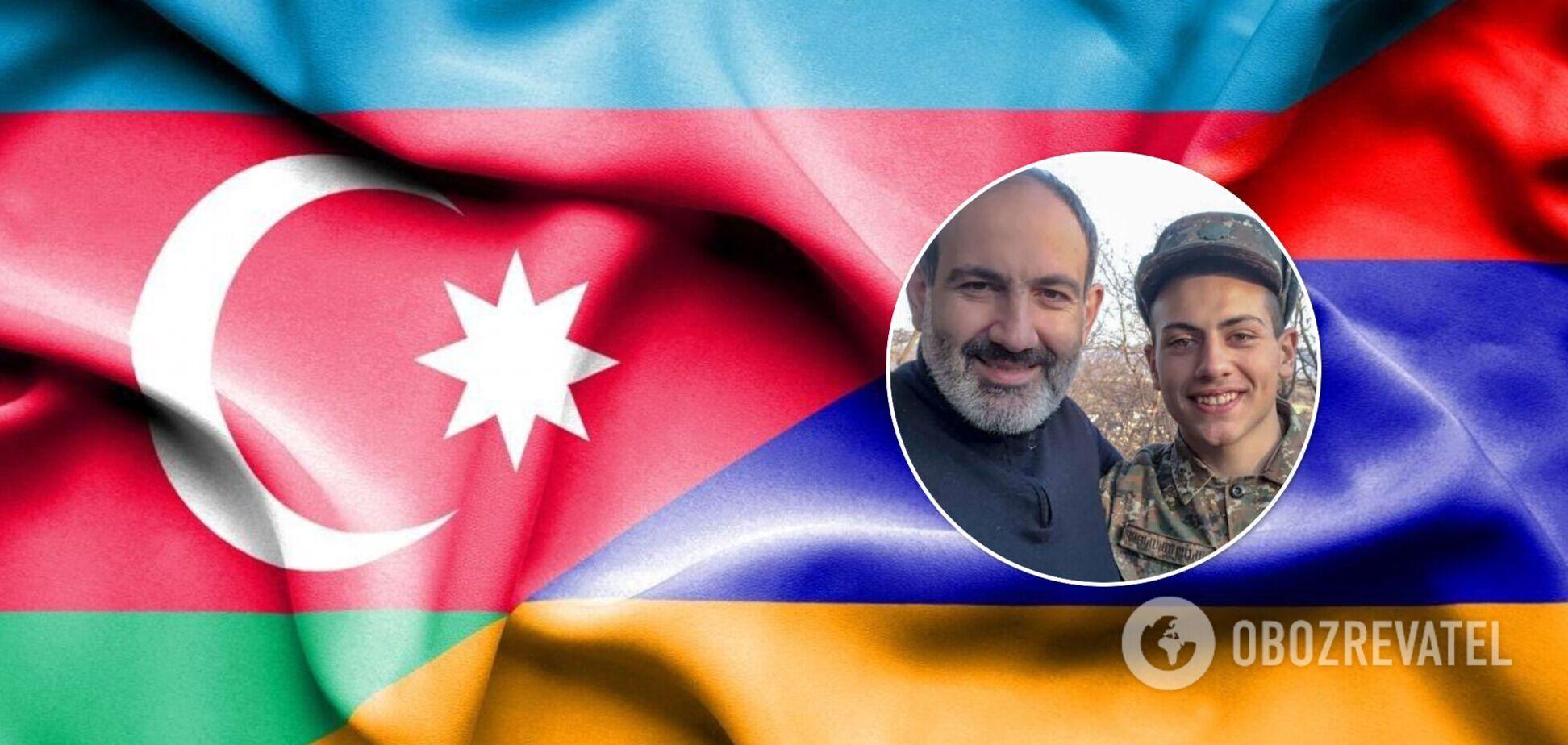Нікол Пашинян і його син Ашот