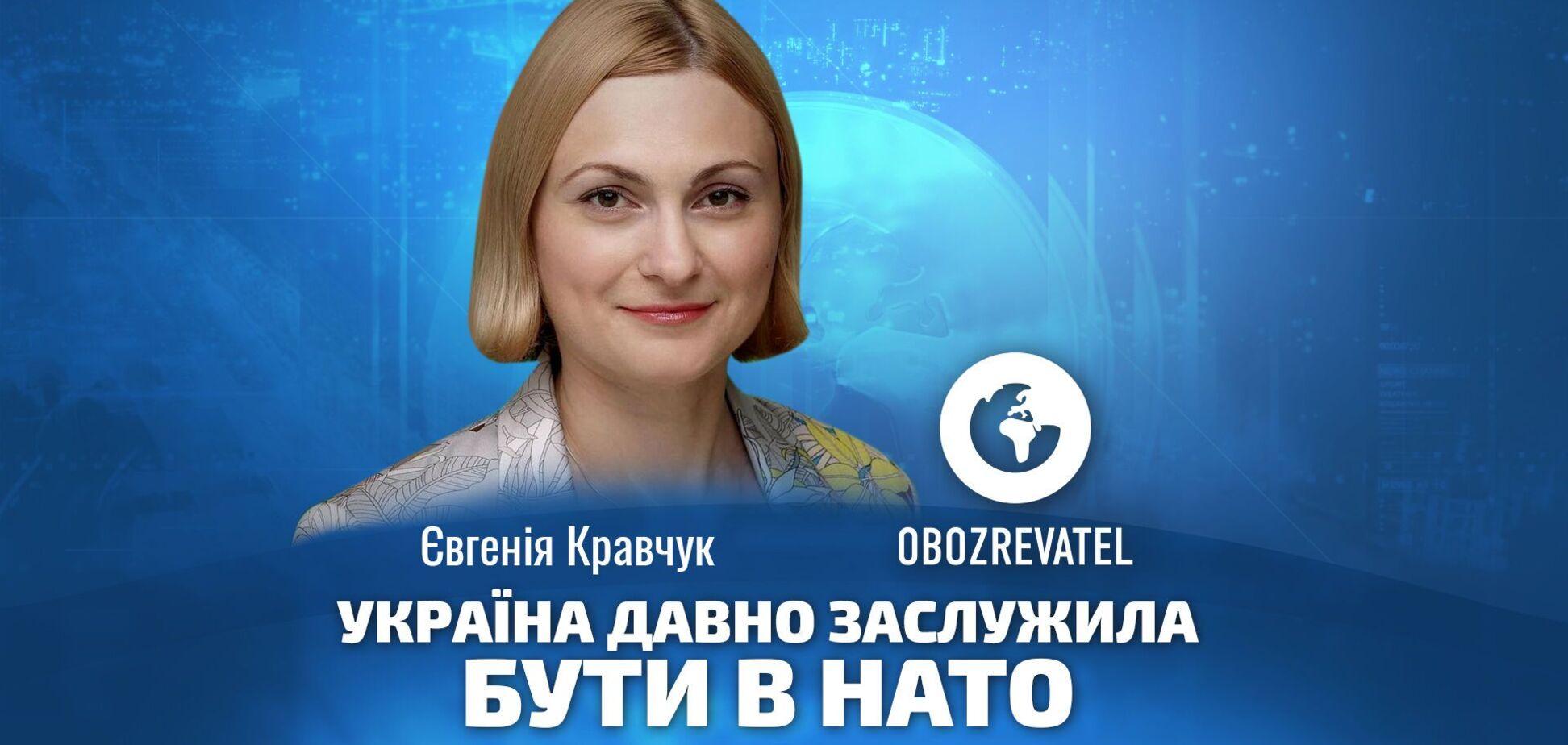 Україна давно заслужила бути в НАТО, – Кравчук