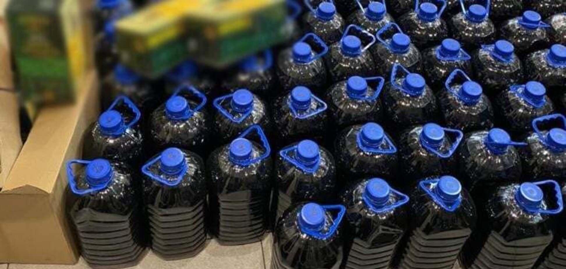 На підприємстві НАН України виготовили підроблений алкоголь більш ніж на 1 млн грн