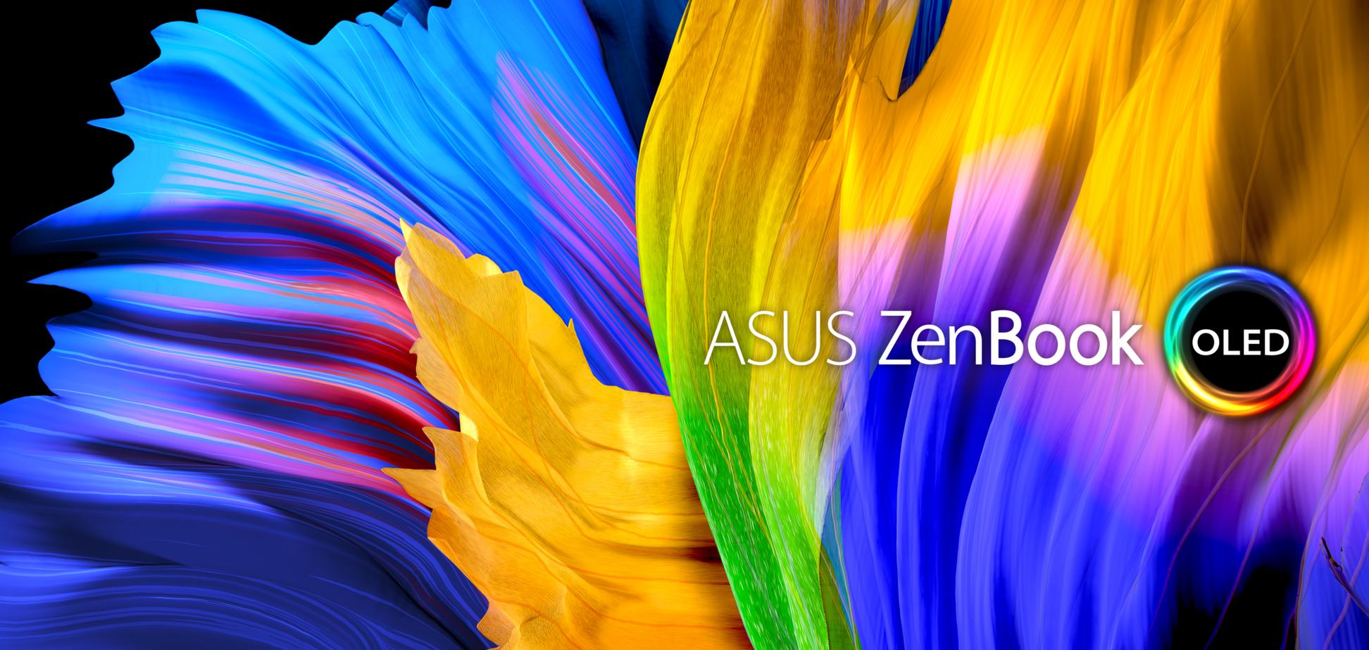 Компания ASUS представила целый ряд ноутбуков с OLED-дисплеями