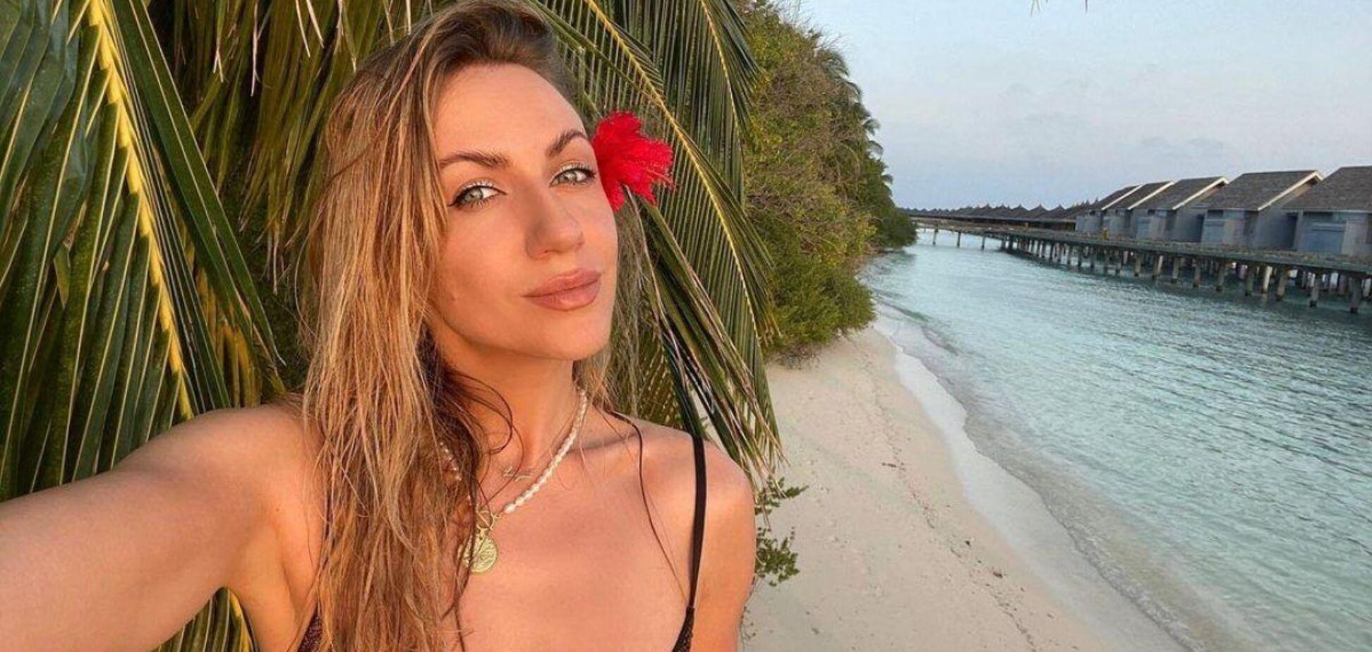 Леся Никитюк удивила фанатов фигурой в купальнике за 500 грн. Фото