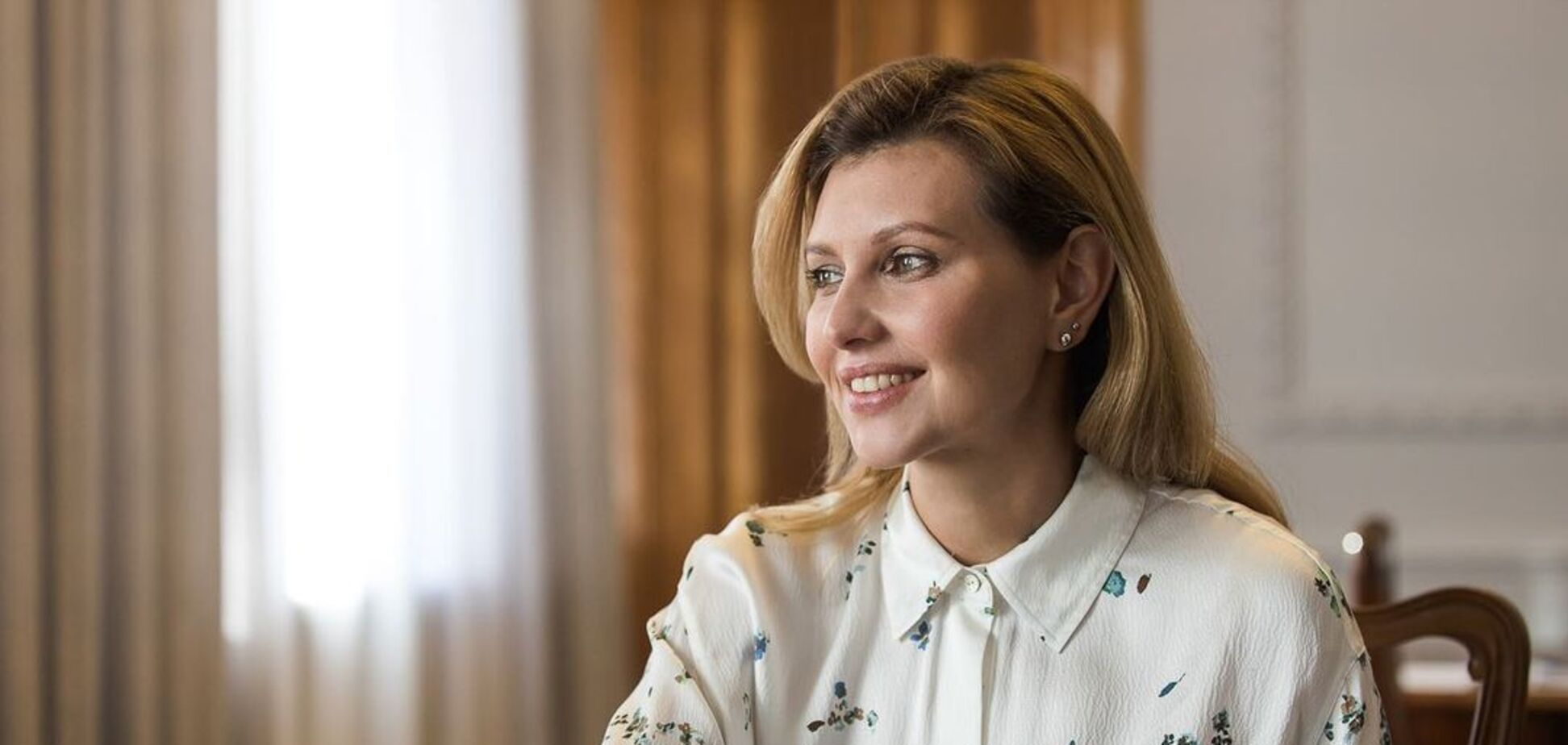 Перша леді України Олена Зеленська