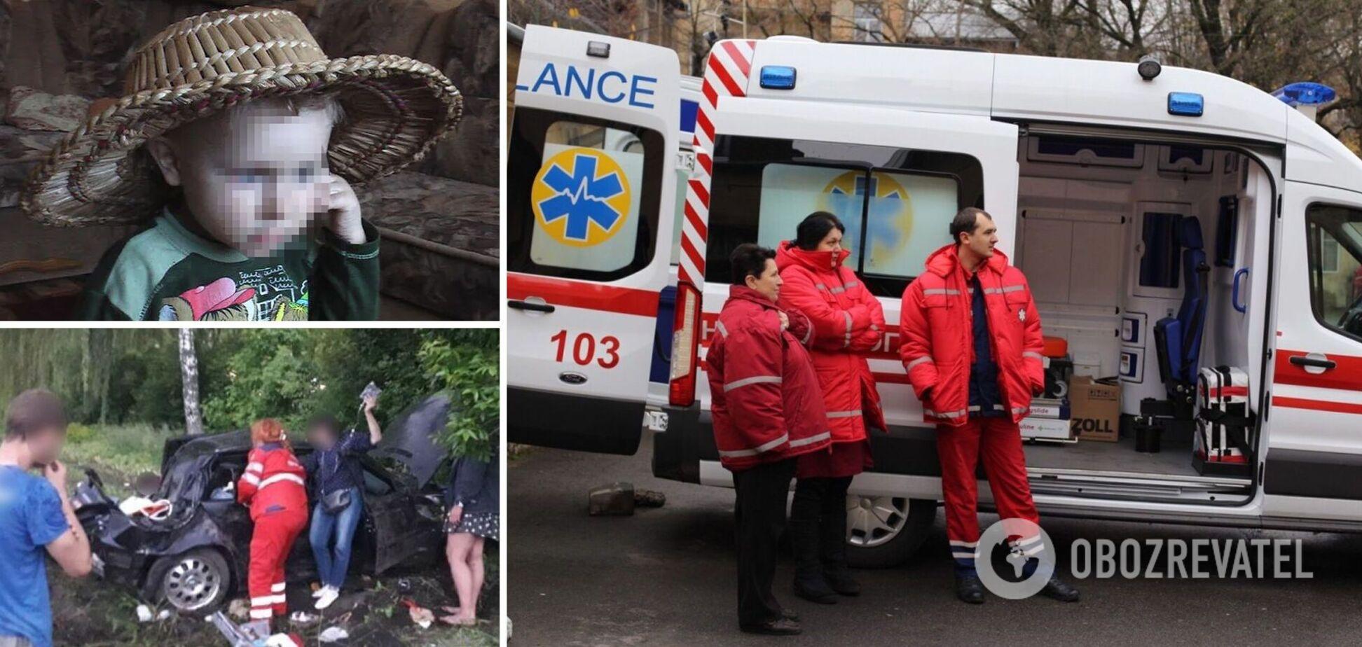 У ДТП під Києвом 12-річний хлопчик загинув у день свого народження, поліція підозрює батька: деталі трагедії
