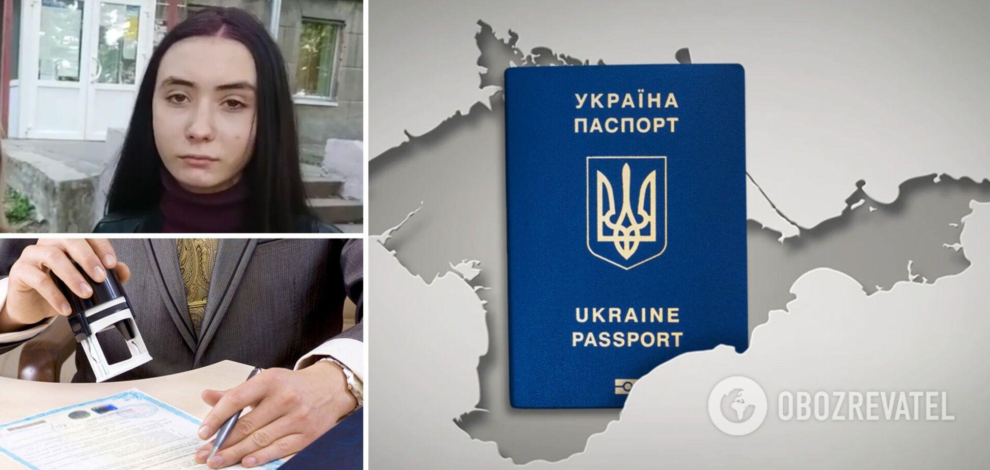 Жителям Криму вкрай важко отримати паспорт України