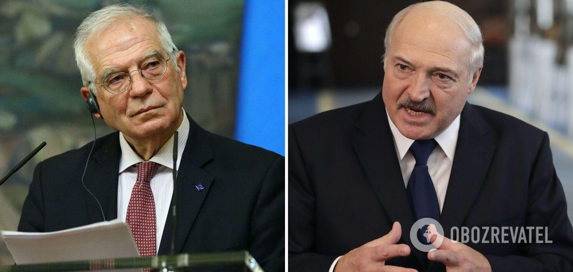 Глава дипломатии ЕС впервые публично назвал Лукашенко диктатором