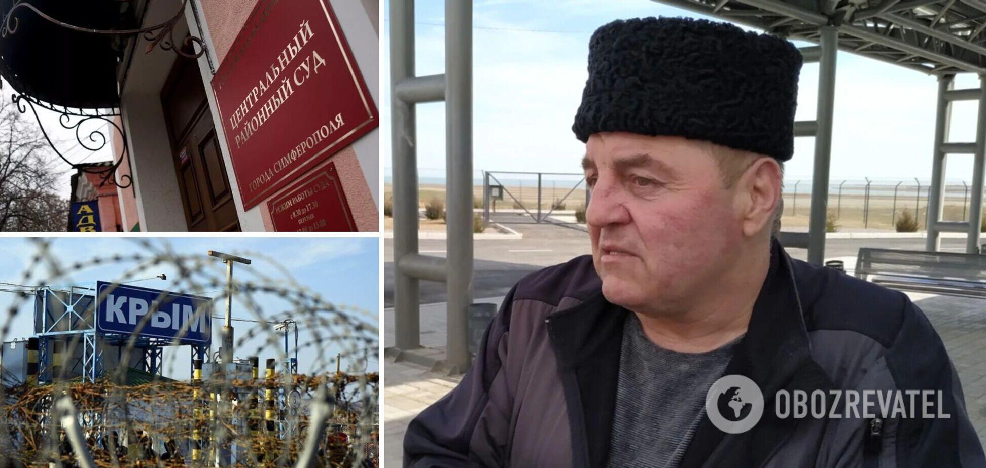 У Криму 'засудили' до 7 років колонії українського експолітв'язня Бекірова