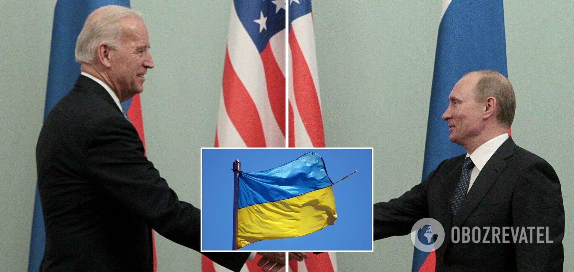Украина и США скоординировали позиции накануне встречи Байдена с Путиным