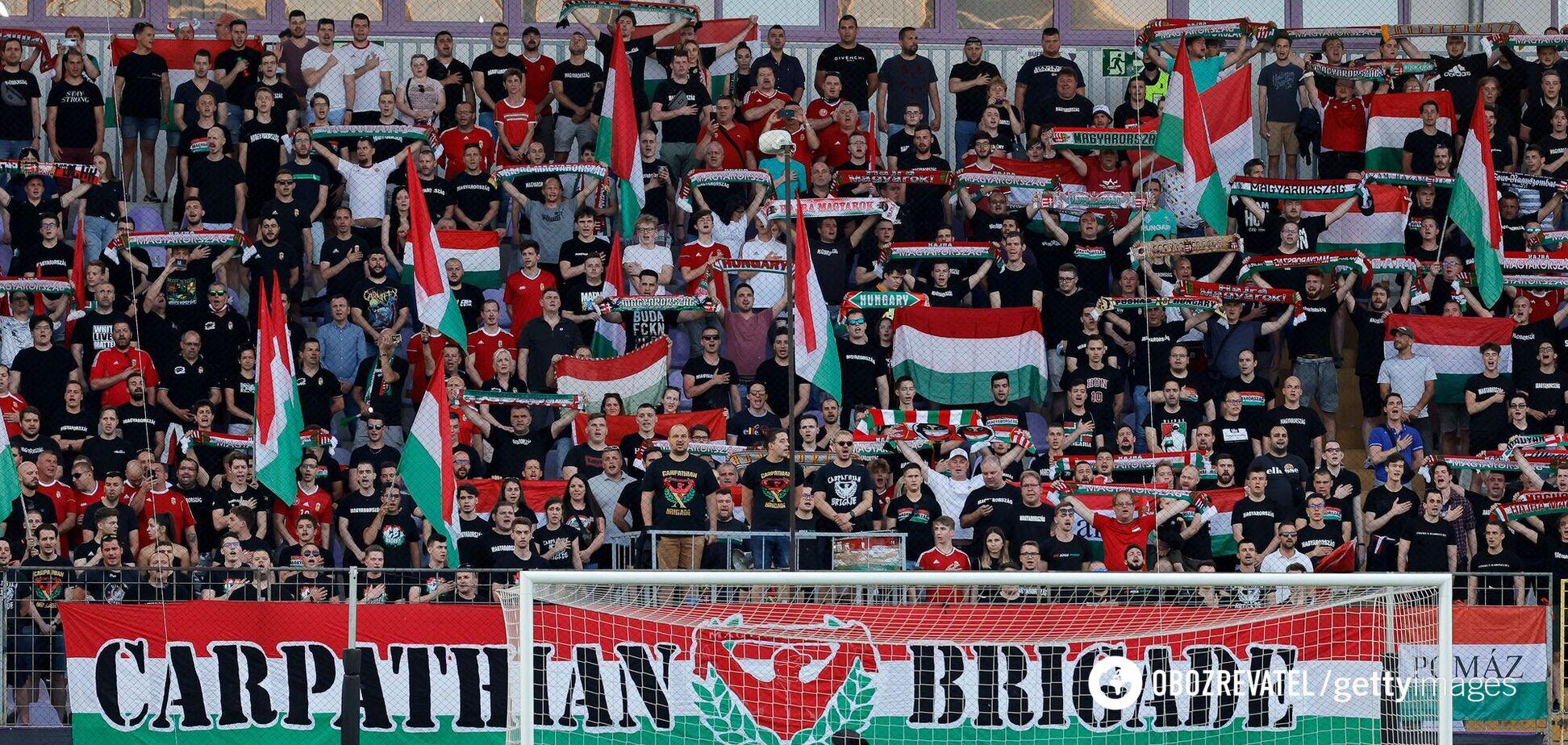 Фанаты сборной Венгрии