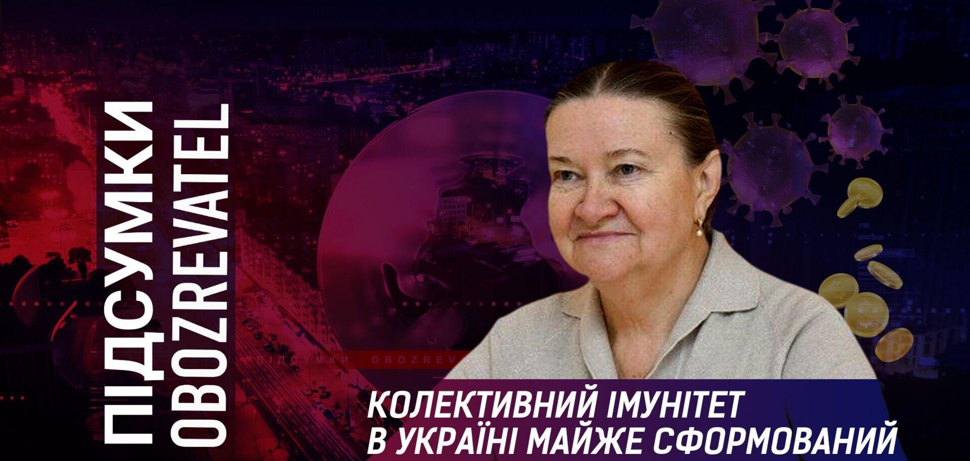 Імунітет до COVID-19 мають 70% українців, – вірусологиня
