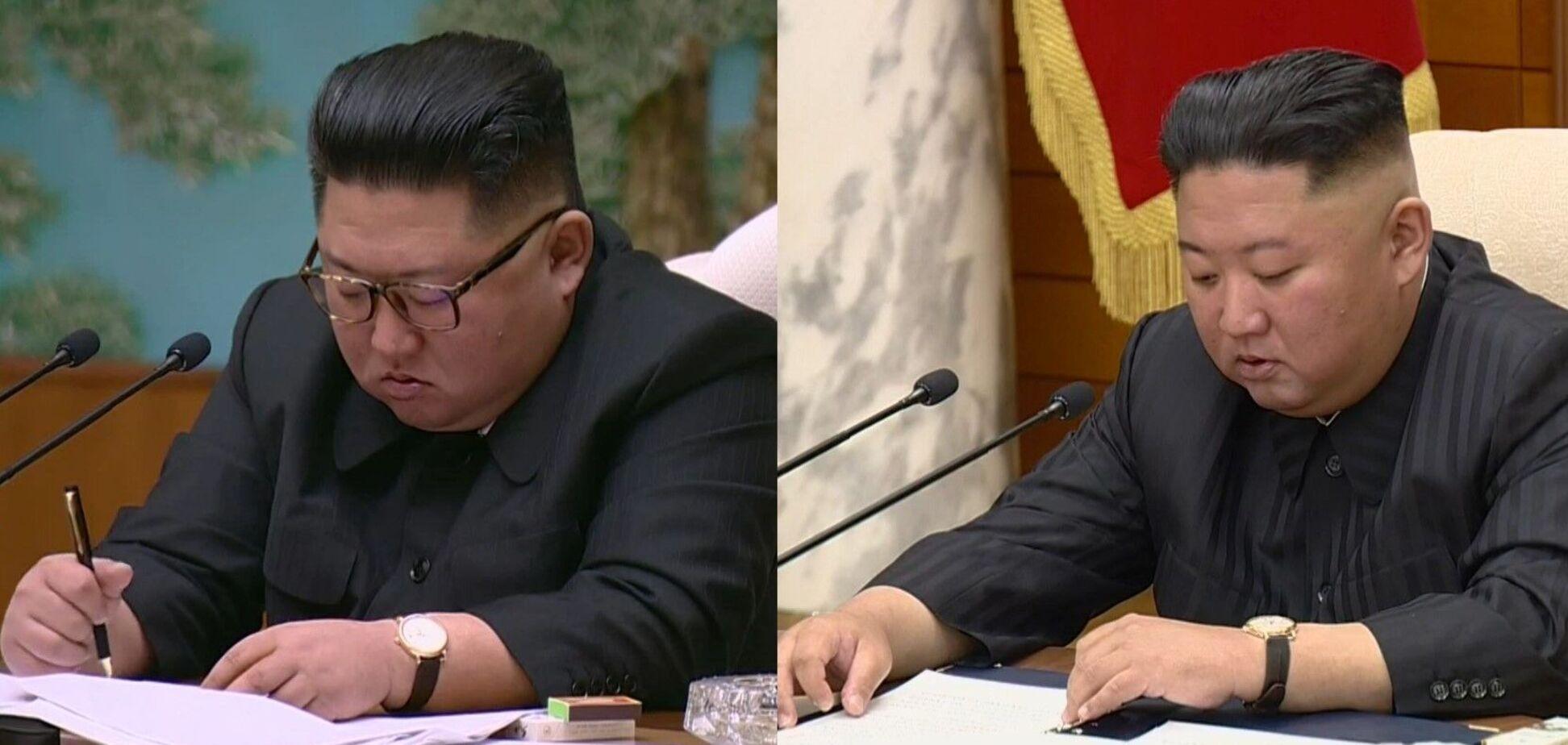 Різке схуднення Кім Чен Ина викликало нову хвилю чуток про його хворобу. Фото